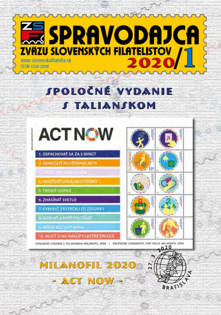 Spravodajca č.1/2020