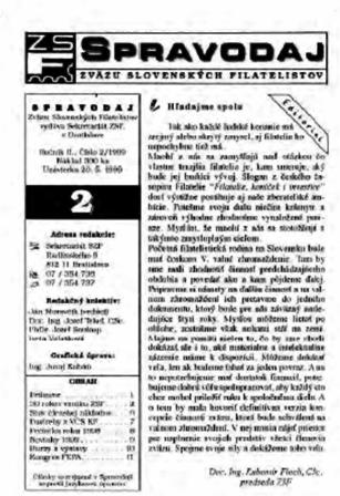 Spravodajca č.2/1999